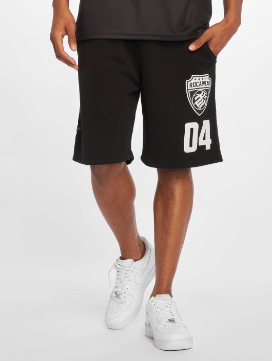 Rocawear Shorts Fleece schwarz