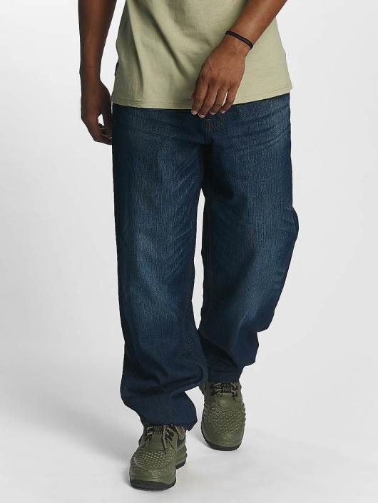 Rocawear Spodnie Baggy Baggy Fit niebieski