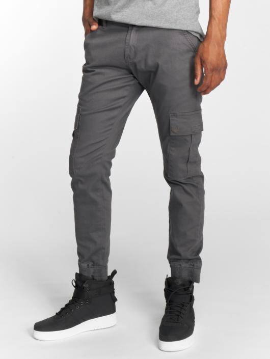 Rocawear Spodnie Chino/Cargo Cargo Fit szary