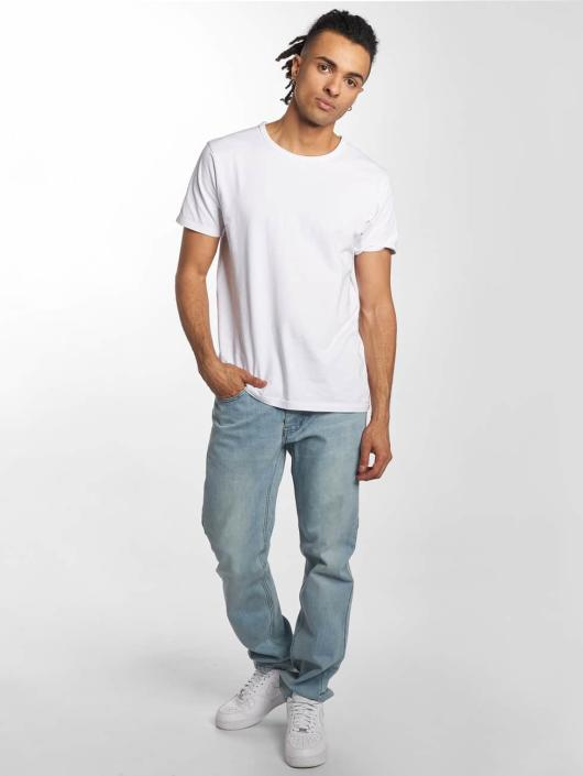 Rocawear Straight Fit Jeans Moletro Leather Patch blå