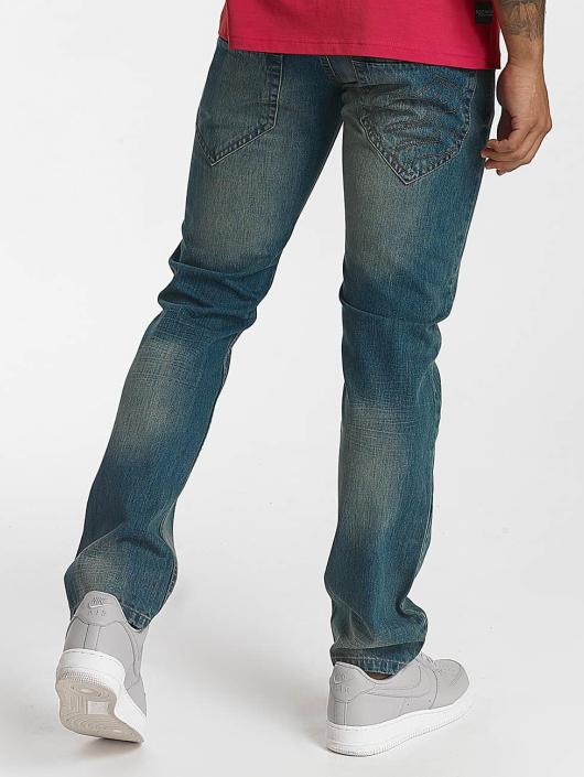 Rocawear Straight Fit Jeans Relax Fit blau