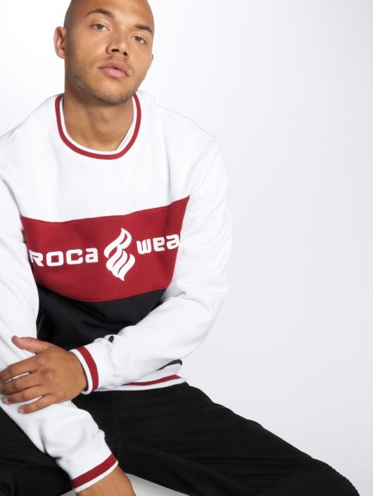 Rocawear Swetry 3 Tone bialy