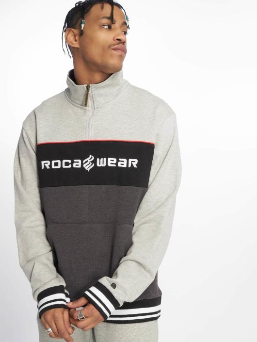 Rocawear Swetry CB HZ Crewneck szary