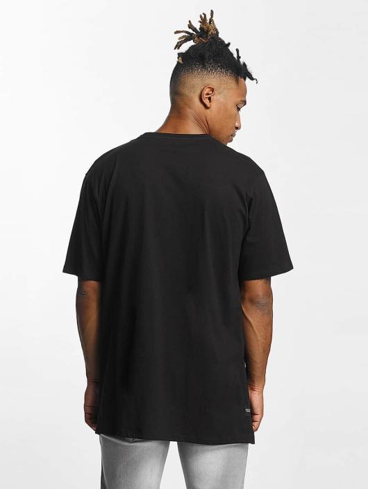 Rocawear T-paidat Retro Velour musta