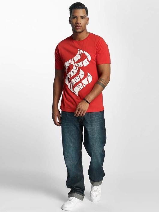 Rocawear T-Shirt Fingerprint red