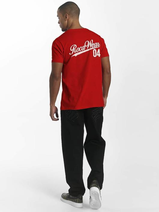 Rocawear T-Shirt 90th Sport red