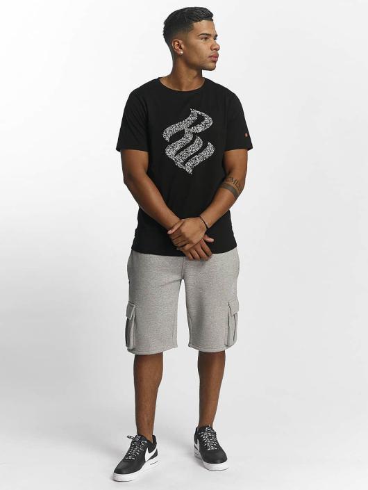 Rocawear T-Shirt Splatter Logo schwarz