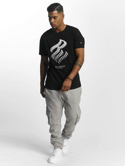 Rocawear T-Shirt Triangle schwarz