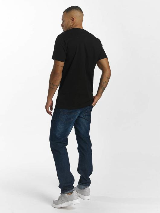 Rocawear T-Shirt Velvet Logo schwarz