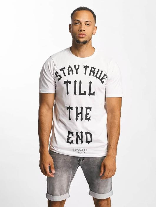 Rocawear T-Shirty Stay True bialy