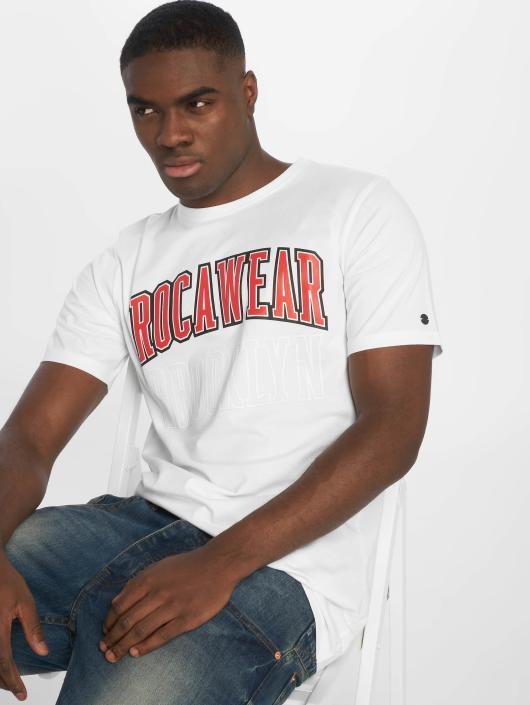 Rocawear T-Shirty Brooklyn bialy