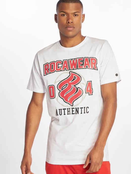 Rocawear T-Shirty Authentic bialy