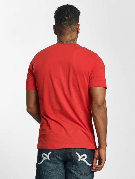 Rocawear T-Shirty Fingerprint czerwony