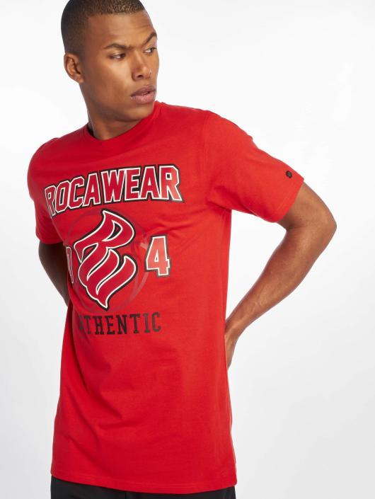 Rocawear T-Shirty Authentic czerwony