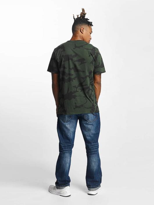 Rocawear T-skjorter Retro Army oliven