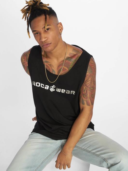 Rocawear Tank Tops Camo Block czarny