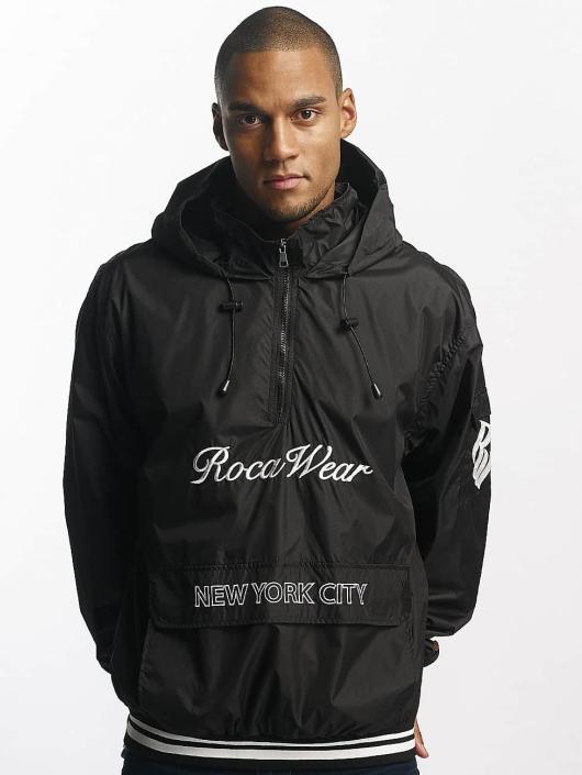 Rocawear Übergangsjacke Windbreaker schwarz