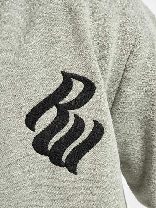 Rocawear Zip Hoodie Brand grau