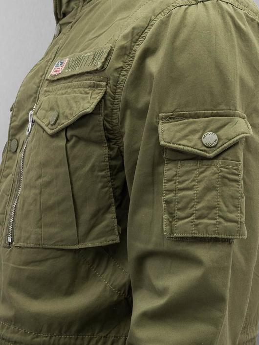 Schott NYC Lightweight Jacket Field Squad khaki