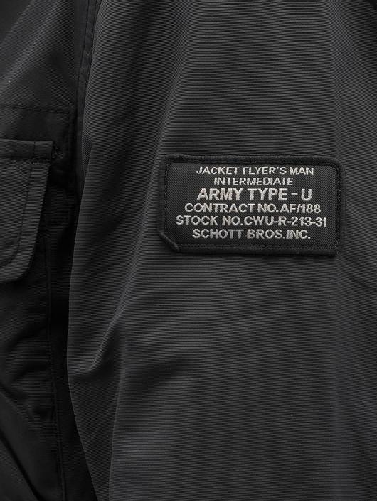 Schott NYC Übergangsjacke Field Rickson schwarz