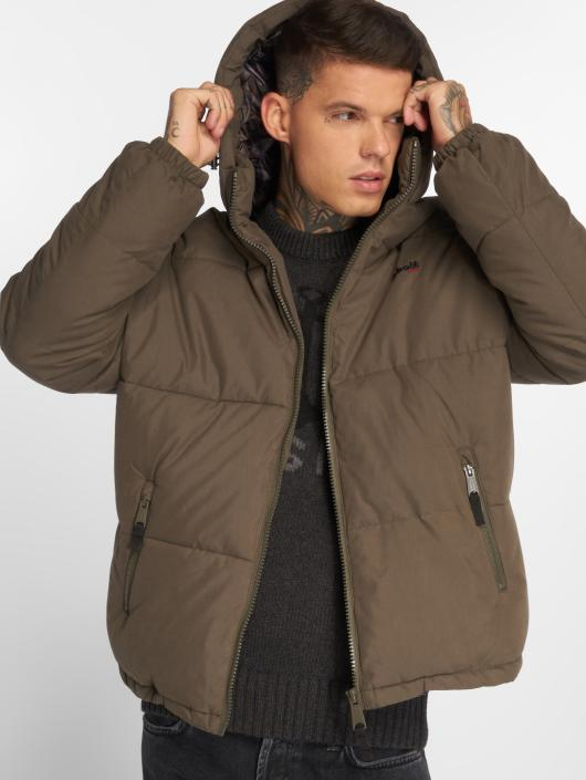 Schott NYC Winter Jacket Jkt Alaska khaki