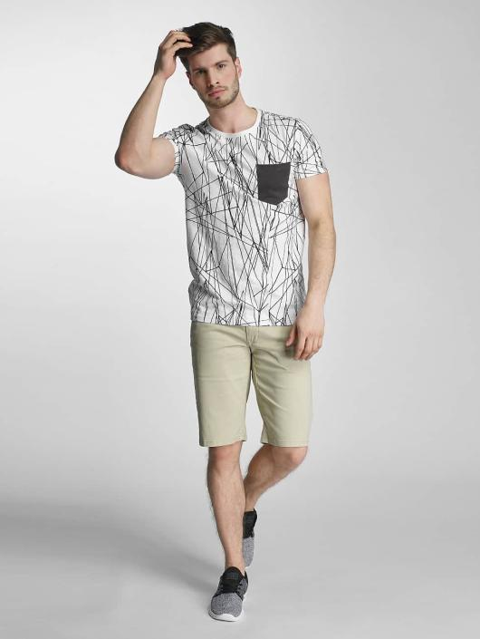 SHINE Original Camiseta Long Oversize Jarrod blanco