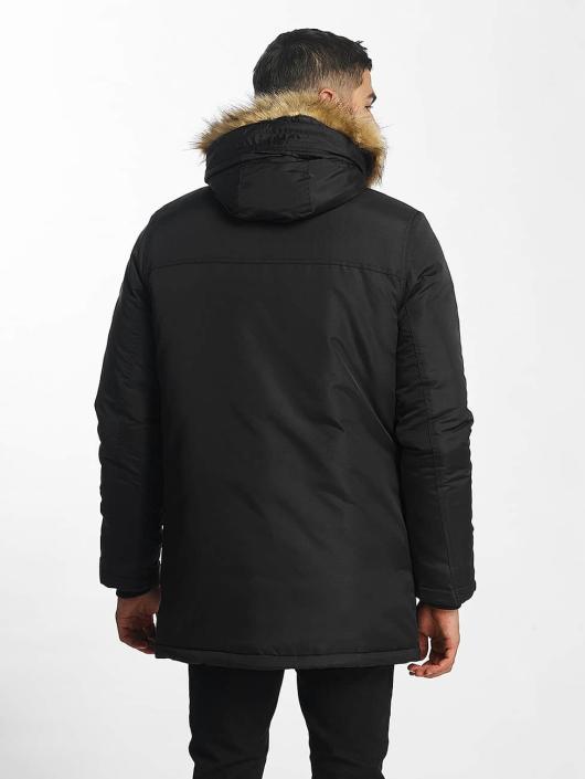 SHINE Original Coats Taslan Parka black