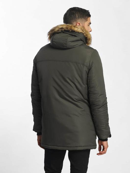 SHINE Original Coats Taslan Parka olive