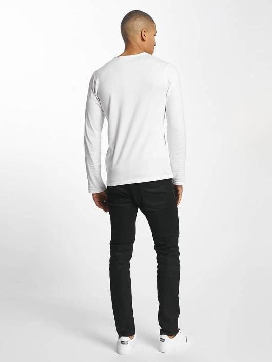 SHINE Original Longsleeve Andrian Dyed & Wash Out weiß