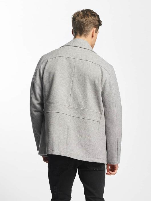 SHINE Original Parka Button Row grijs