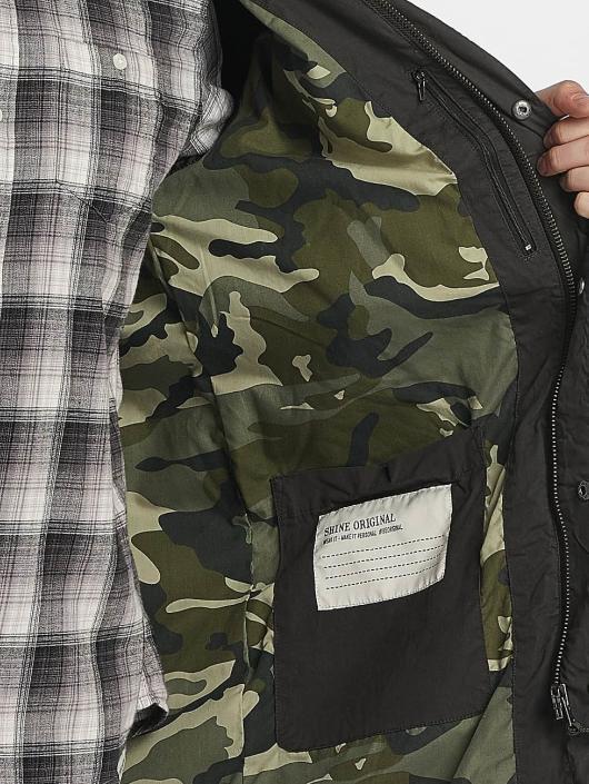 SHINE Original Parka Jefferson Military zwart