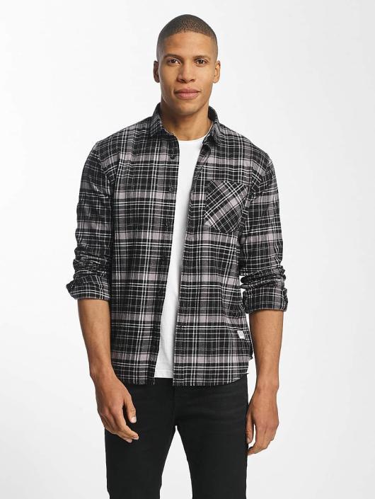 SHINE Original Shirt Luis Checked black