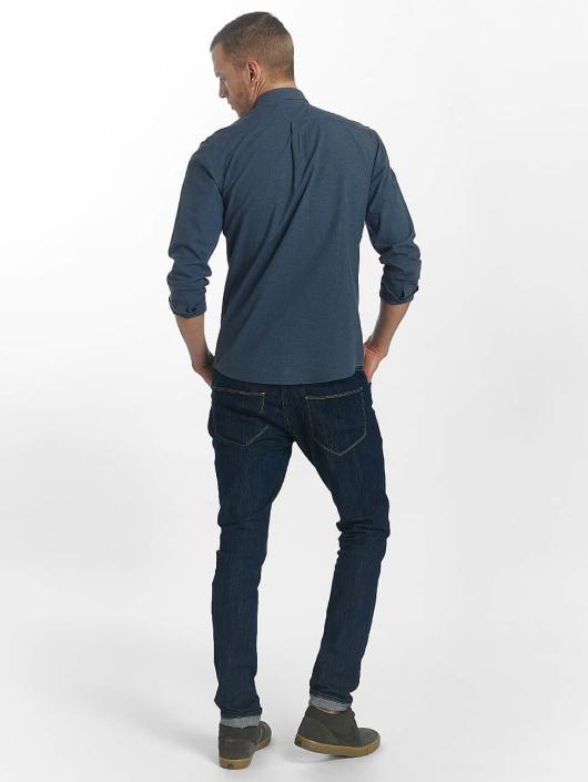 SHINE Original Skjorte Cotton Mélange Otto Line blå