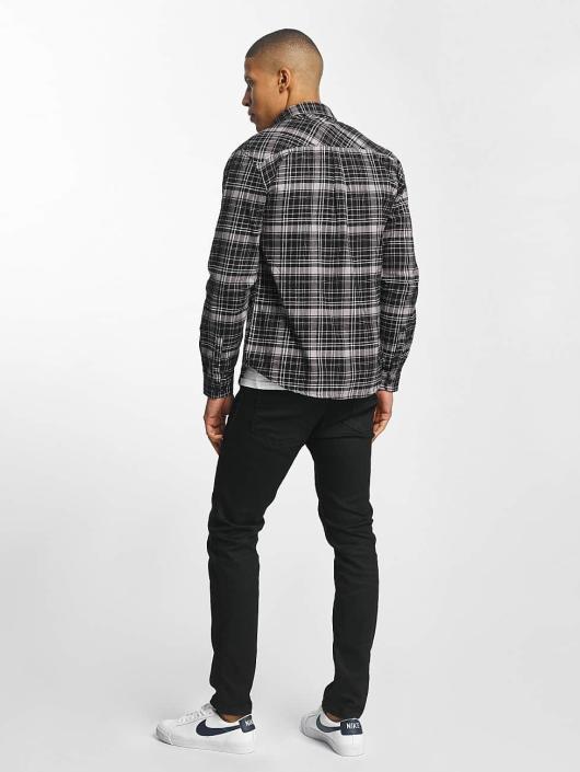 SHINE Original Skjorter Luis Checked svart