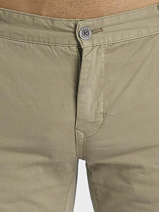 SHINE Original Spodnie wizytowe Abdul bezowy