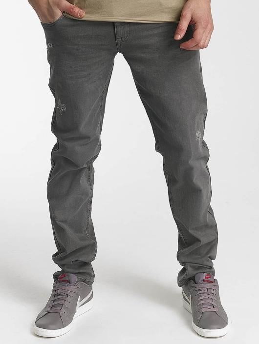 SHINE Original Straight Fit Jeans Wyatt grå