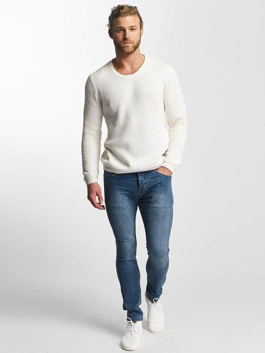 SHINE Original Sweat & Pull O-Neck Knit blanc