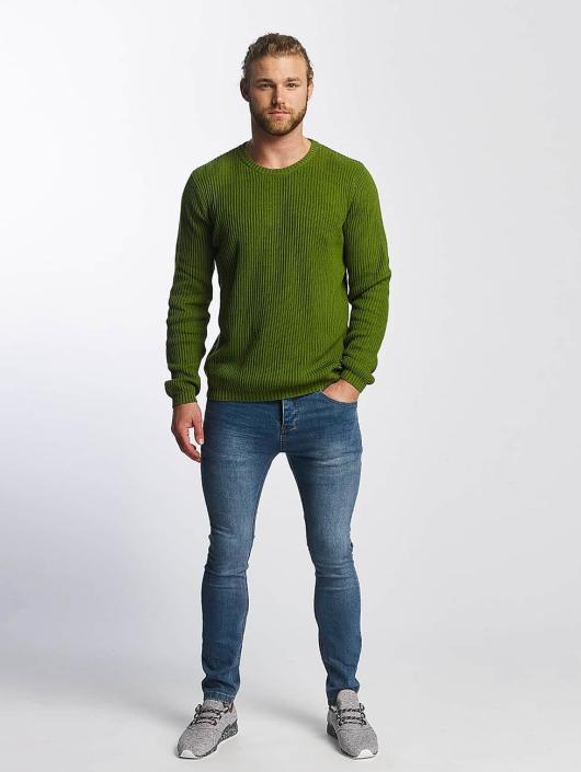 SHINE Original Sweat & Pull O-Neck Knit vert