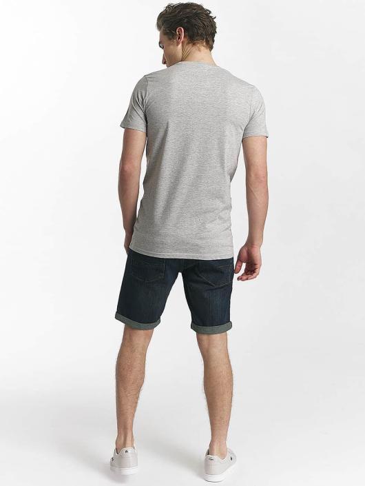 SHINE Original T-paidat Buster Varsity Print harmaa