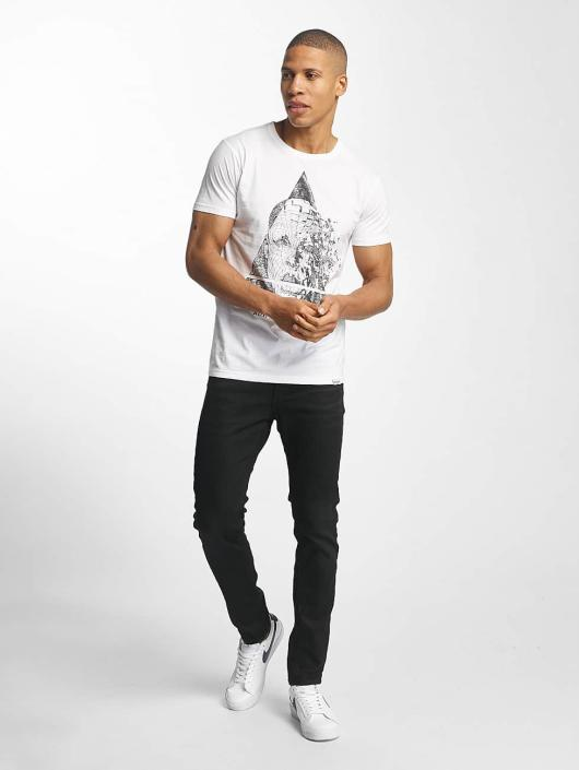 SHINE Original T-Shirt August Graphic blanc
