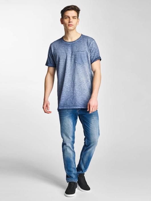 Bleu Original 298266 T Shine shirt Dye Homme vOmn08Nw