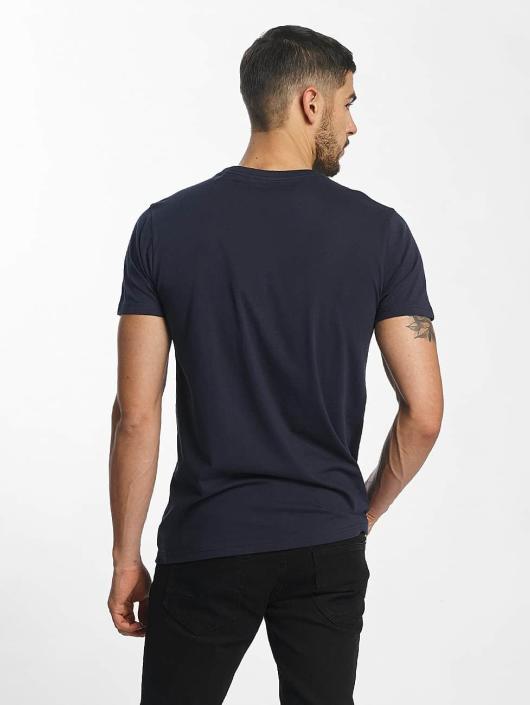SHINE Original T-Shirt Denim City Print bleu