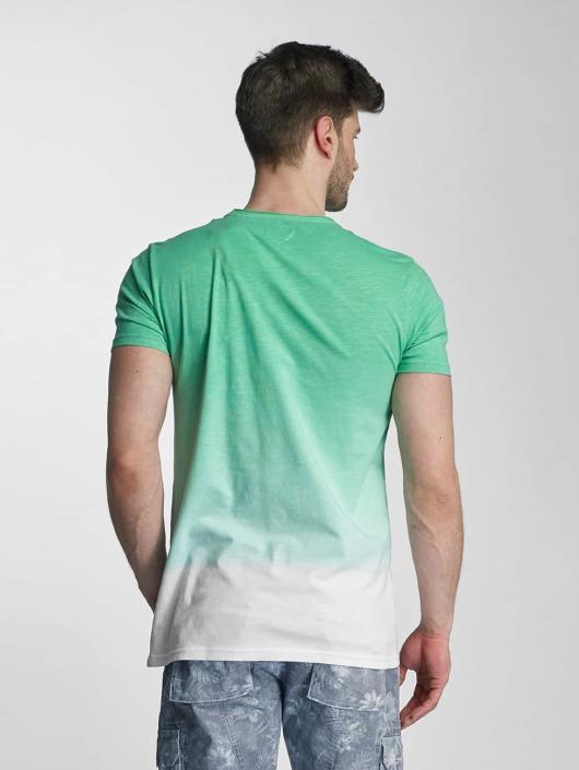 SHINE Original T-Shirt Dip Dyed green