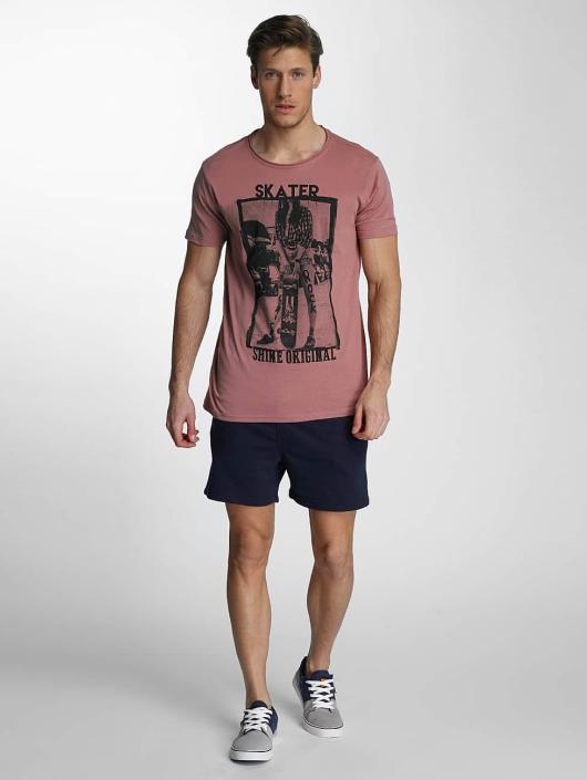 SHINE Original T-Shirt Skater rosa