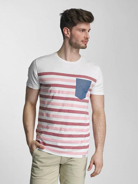 SHINE Original T-Shirt Striped rosa