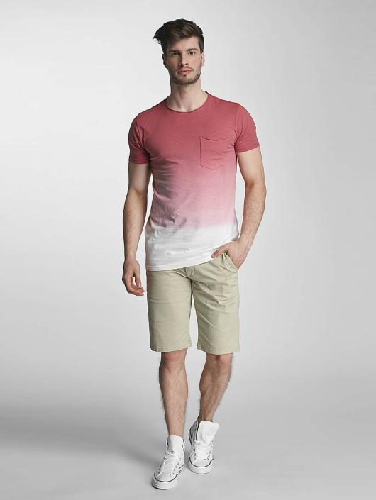SHINE Original T-Shirt Dip Dyed rose