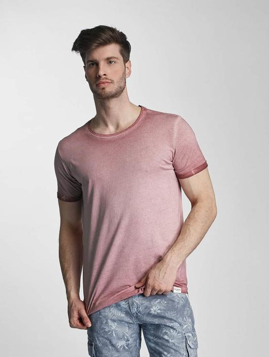 SHINE Original T-Shirt Dirt Dye Wash rose