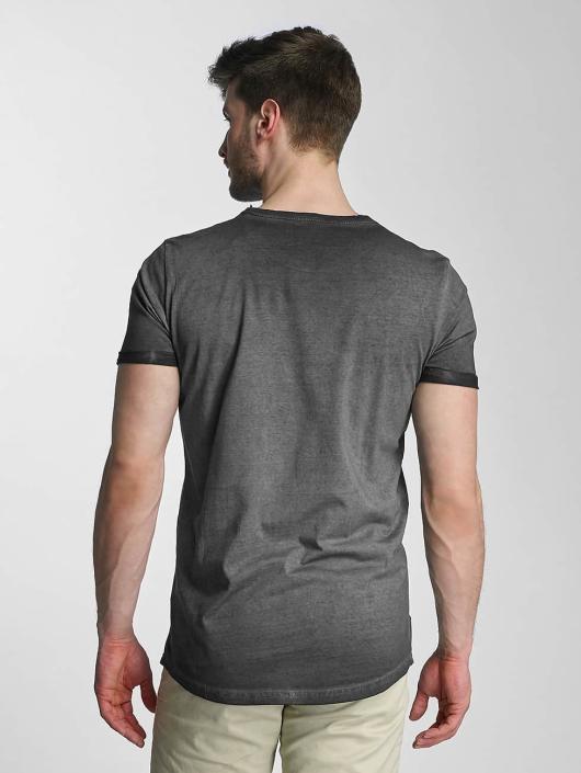 SHINE Original T-Shirt Dirt Dye Wash schwarz