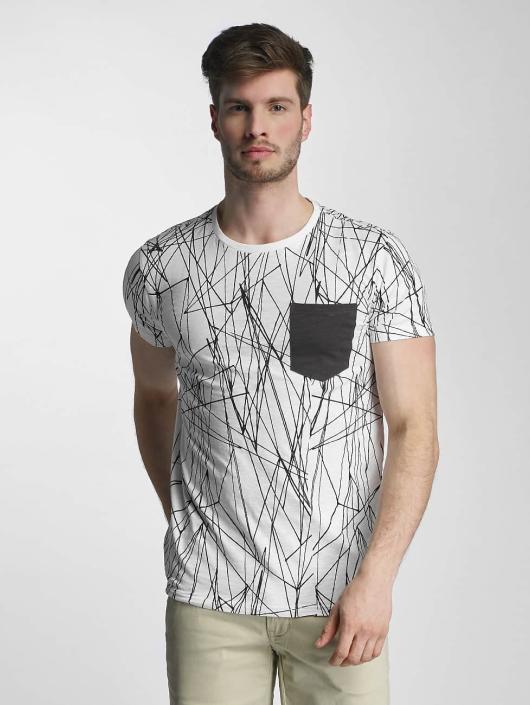 SHINE Original T-Shirt Long Oversize Jarrod weiß
