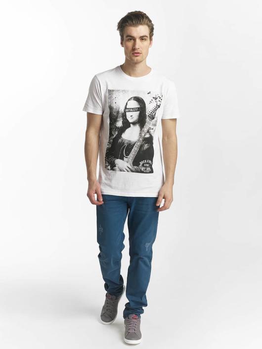 SHINE Original t-shirt Collin Denim Rebel Print wit